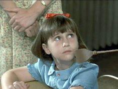 Filme: Matilda (1996) Mara Wilson, Danny Devito, Roald Dahl, Matilda, Miracle On 34th Street, Darry, Fan Art, 6 Year Old, Top Movies