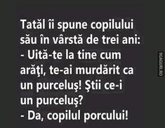 Știi ce e un purceluș? Funny Texts, True Stories, The Funny, Haha, Funny Quotes, Jokes, Cards Against Humanity, Humor, Funny Things