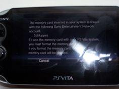 Vita Update Ties Memory Cards to PSN Accounts