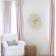 Pink Bohemian Nursery with White Juju Hat