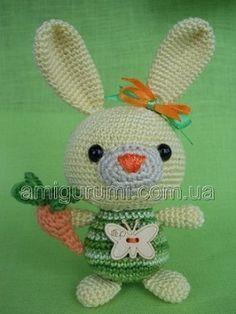 Amigurumi Bunny Rabbit - Free Crochet Pattern
