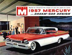 Plan59 :: Classic Car Art :: Vintage Ads :: 1957 Mercury Turnpike Cruiser
