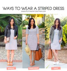 Ways to Wear a Striped Dress