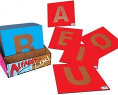 Ref. 620 – Alfabeto com Lixa   Simque