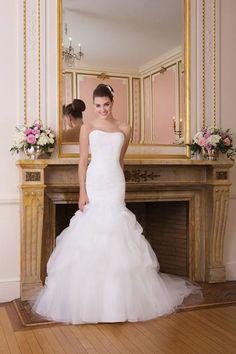 #weddingdress #trumpet #bride