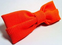 PAPILLON Orange a Coste Bow Tie Men Farfallino Uomo di Idillyum