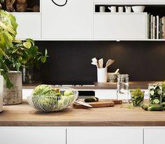 ideas de cocinas en blanco y negro 17