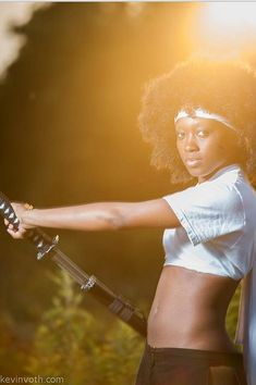 Character: Afro Samurai Series: Afro Samurai Black Cosplay