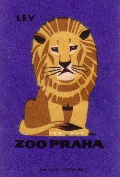 ZOO Prague, Matchbox Series, 1963