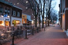 Charlottesville, VA - Downtown Mall.
