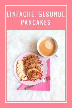 Gesunde Pancakes, die schnell und einfach zu machen sind. Zudem sind diese gesunden Pancakes auch ideal zum einfrieren und man kann die gesunden Pancakes am nächsten Tag mit ins Büro nehmen. Gesunde Pancakes sind ein ideales Frühstück und dazu sind sie noch schnell und einfach zu machen.