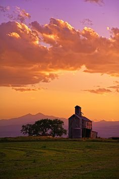 ~~A Fading Sunset View ~ farm along route 34, between Greeley and Loveland, Front Range of Colorado | Mike Menefee Photography~~