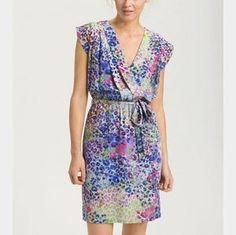 I just added this to my closet on Poshmark: Presley Skye 100% silk wrap dress. Price: $30 Size: XL