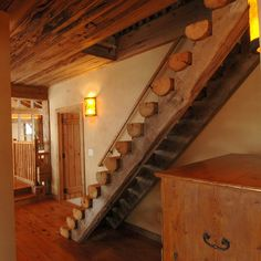 Delicieux Perfect #rustic #staircase Rustic Staircase, Vintage Style Decor, Wooden  Stairs, Stair