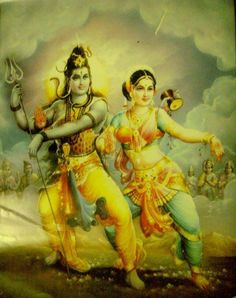 Transcendental Dance in the Courtyard of Lord Shiva. How is Lord Shiva and Durga considered the Father and Mother of the Universe is explained as follows. Since it is the glance of the Supreme Bei…