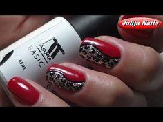 ▲ Гель лак / Простой дизайн ногтей - YouTube