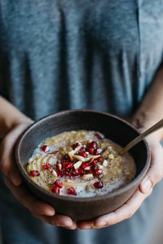 cozy coconut butternut oatmeal | dolly and oatmeal