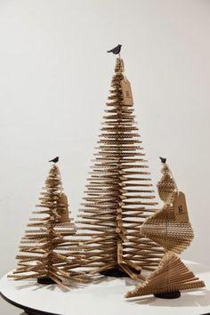 Arboles de Navidad de cartón   orma