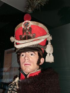 Shako Garde d'Honneur ( exhibition Patrice Courcelle) Brussels army museum
