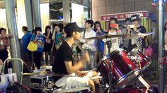 """20130628 李科穎《PSY 江南STYLE》 高畫質 1080p HD Jazz Drummer """"Ke Ying"""""""