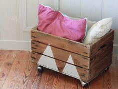 DIY #5 : recycler une vieille caisse en bois