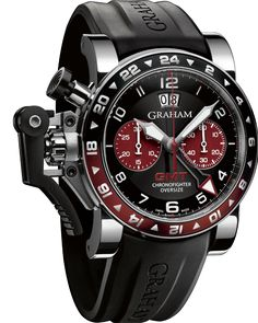 Oversize GMT steel « Chronofighter « Collection - Graham London  www,ChronoSales.com for all your luxury watch needs, sign up for our free newsletter, the new way to buy and sell luxury watches on the internet. #ChronoSales