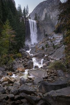 Vernal Fall - Yosemite National Park