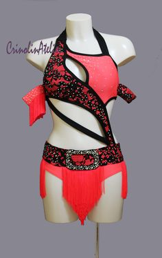 latin salsa dance costume www.crinolinatelier.it