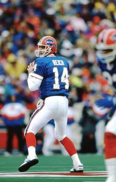 c1d96b0c4 Frank Reich - back-up QB for Jim Kelly Buffalo Bills Football
