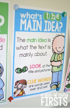 Great CCSS Resource! Includes anchor charts and graphic organizers. Read her blog post to find out how about the many ways to use this resource in your room!
