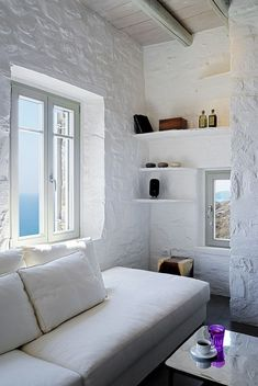 Mediterranean summer house on Serifos Island