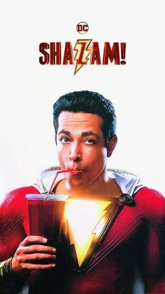 We all have a superhero inside us, it just takes a bit of magic to bring it out. In Billy Batson's case, by shouting out one word - SHAZAM. - this streetwise fourteen-year-old foster kid can turn into the grown-up superhero Shazam. Captain Marvel Shazam, Zachary Levi, Hindi Movies, Disney Pixar, Shazam Movie, Superman, Batman, Film Streaming Vf, Dc Comics