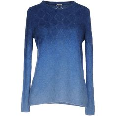 Massimo Alba Sweater (900 BRL) ❤ liked on Polyvore featuring tops, sweaters, pastel blue, massimo alba, pastel sweaters, pastel tops, lightweight sweaters and pastel blue sweater