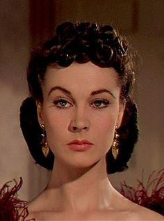 Vivien Leigh- encanta su estilo y descaro como Escarlata O'Hara.  Ella no tenía miedo de nada y tan seguro ....: