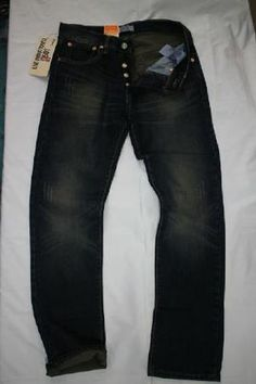 levis 501 ori import USA black stone wash cakar