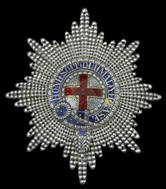 Order of the Garter - Star (92 x 81mm, Hunt & Roskell Jewellers)