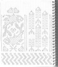 Knitted Mittens Pattern, Fair Isle Knitting Patterns, Knit Mittens, Knitting Charts, Knitting Socks, Knitting Needles, Crochet Patterns, Graph Design, Chart Design