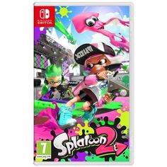 Buy a used Splatoon 2 Nintendo Switch Game. ✅Compare prices by UK Leading retailers that sells ⭐Used Splatoon 2 Nintendo Switch Game for cheap prices. Nintendo Switch Splatoon 2, Nintendo Switch System, Nintendo Switch Games, Pokemon, Pikachu, Metroid, Mario Kart, Mario Bros, Wii U