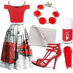 Zaujímavý mestský outfit doplnený jednoduchým náramkom od Natalyss: http://www.sperkysan.sk/cerveny-naramok