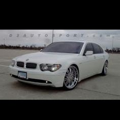 BMW 745i my baby before kid # 4