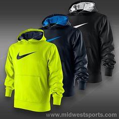 Nike boys sport performance hooded jacket