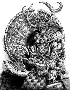 Slaine Mac Roth by vikingmyke on deviantART