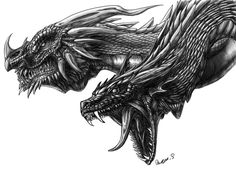 Drawings Of Dragons | 20 Awesome Dragon Drawings | Top Design Magazine - Web Design and ...