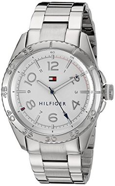 Tommy Hilfiger Womens 1781639 Lizzie Analog Display Japanese Quartz Silver Watch ** You can get additional details at the image link. (This is an affiliate link) Tommy Watches, Watches For Men, Elegant Watches, Fossil Watches, Tommy Hilfiger Women, Sport Watches, Stainless Steel Bracelet, Bracelet Watch, Image Link