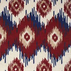#ClassicIkatRunner - A premium #linen #tablerunner with classic ikat tribal patterns.