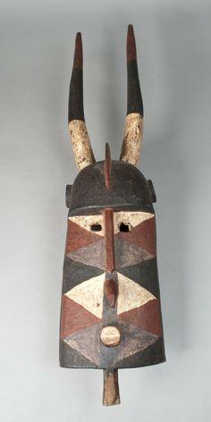 Bobo Tribe Carved Mask