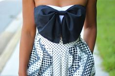 DIY bow bandeau via StyleLust Pages: Culotte Coolin