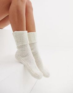 Buy ASOS DESIGN cosy lounge socks at ASOS. With free delivery and return options (Ts&Cs apply), online shopping has never been so easy. Get the latest trends with ASOS now. Thigh High Socks, Ankle Socks, Cosy Lounge, Cable Knit Socks, Frilly Socks, Invisible Socks, Sock Shop, Retro Logos, Liner Socks