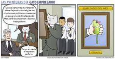 Business Cat - Empleado del Mes