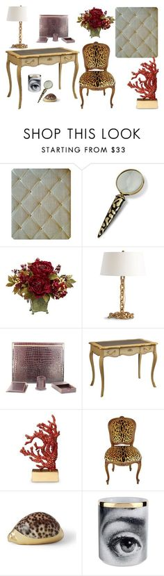 My Perfect Gold Office. Elegant writing desk, classic Cartier desk set. Gold Linen memo board to organise my notes NoticeBoardStore.com. Shop the look http://www.polyvore.com/cgi/set?id=206560166